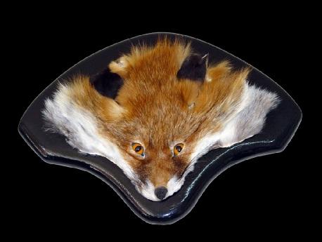 فروش پوست روباه صورت روباه تاکسیدرمی شده